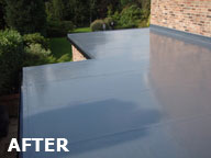 roof after2 North Wales Premier Flat Roofing Specialist