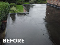 roof before Flat Roof Cheshire | Cheshires Premier Flat Roof Specialist