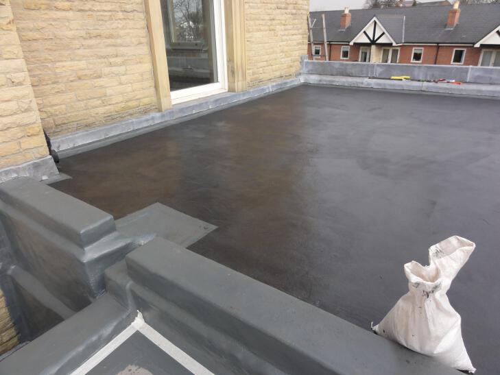 complex roof coating Liquid Roofing